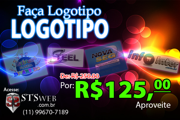 Promoção Logotipo - STSweb